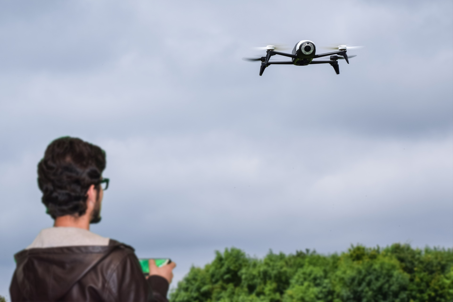 Professional filming drones