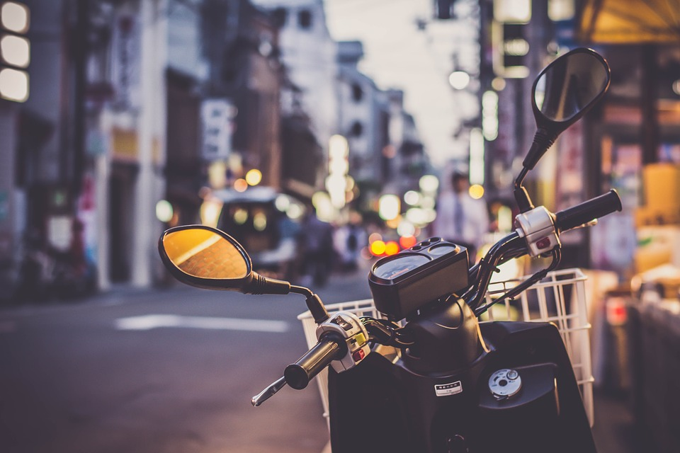 motorcycle safety with v2x communication
